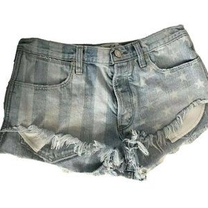 Cut-Off Festival Jean Shorts Abercrombie & Fitch 6